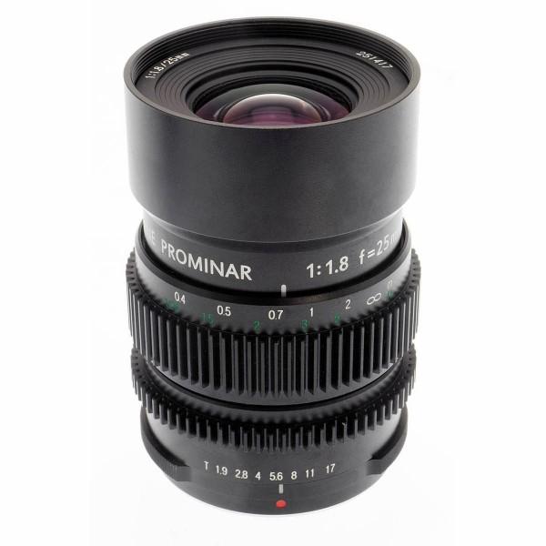 Kowa PROMINAR MFT 25mm f1.8 Cine