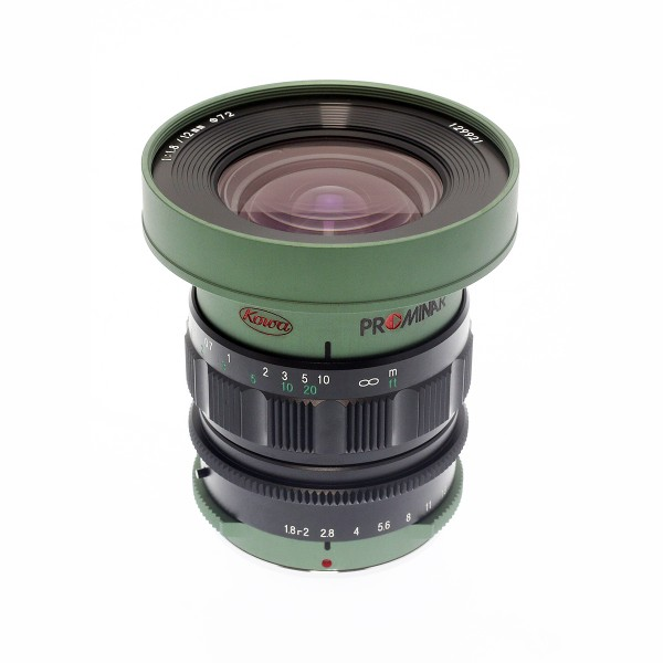 Kowa PROMINAR MFT 12mm f1.8 Green