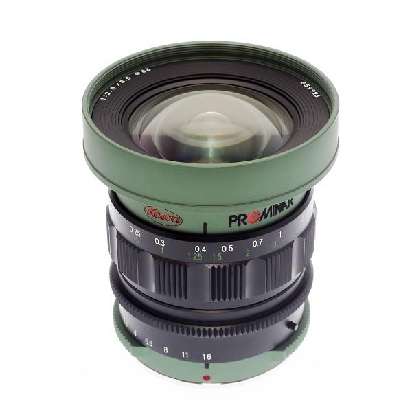 Kowa PROMINAR MFT 8.5mm f2.8 Green