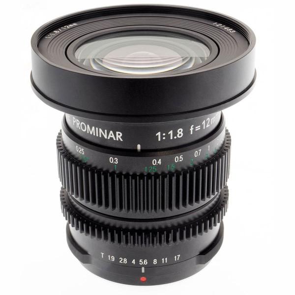 Kowa PROMINAR MFT 12mm f1.8 Cine